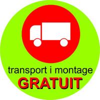 Transport i montage gratuit